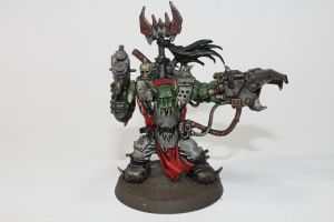 Ork Big Boss - Front by Deltarr