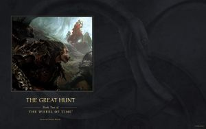 The Great Hunt ebook cover art wallpaper by ArcangHell