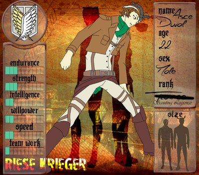 .:Riese Krieger:. Application - Asce Duval by AngelofDusk64