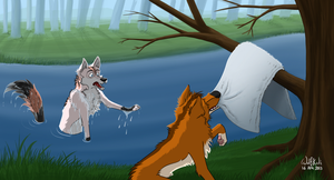 That's My Towel by WolfKodi