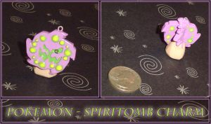 Pokemon - Spiritomb Charm by YellerCrakka