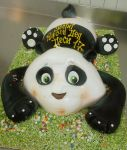 Little Panda Cake by 6eki