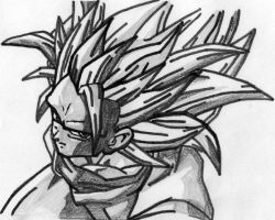 My dbz drawings by diegodragonbooster