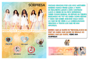Pack de 6OO Watchers (remodelacion +sorpresa) by iMissMovinOn