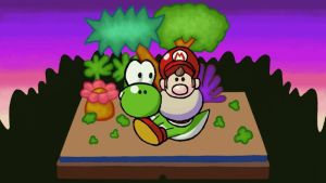 Art Academy - Yoshi's Island Story by SuperAbachiBros