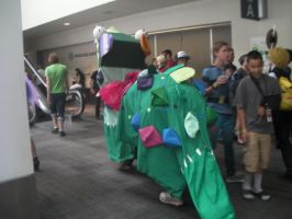 SacAnime Cosplay: Back of the Dragon by wolfforce58