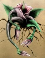 Evil Plant 1 - Corpse Flower by Waterbear