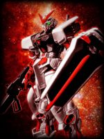 Astray Gundam Red Frame by MoA07