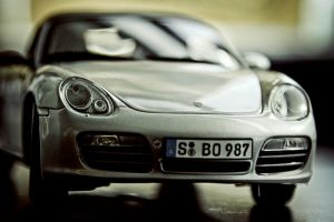 Toy Porsche by PixelBlack