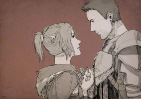 Dragon Age Commission: Marry Me (Alistair/Varia) by ParisWriter