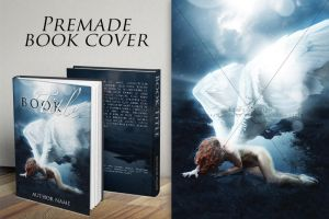 Rise of an angel - Premade Book Cover by dreamswoman