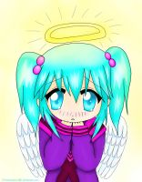 anime angel girl by 721animelover4life