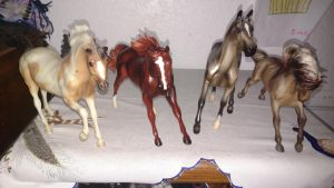 Breyer Classic Stallions by LittleKunai