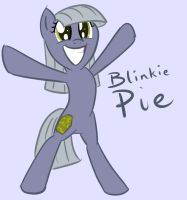 Blinkie Pie by SketchRagon
