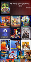 My Favorite Top Movies 2 by SonicX16