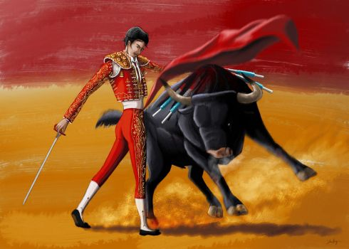 MATADOR - Concept-art by Shafiqur