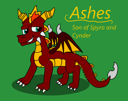 The Legend of Spyro~ Ashes by Pandalove93