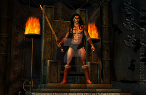 Rise of the Cimmerian by 3D-Fantasy-Art