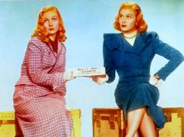 Veronica Lake and Joan Caulfield 1948 by slr1238