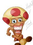 Super Mario: Toad (Sketch by RonnieArtGurl) by JCC113