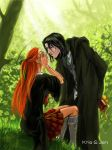 Severus and Lili by jen-and-kris
