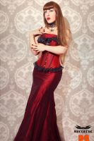 Nocturne: Crimson Glory by Tanit-Isis
