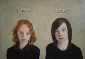 Beca and Guto by enginemonkey