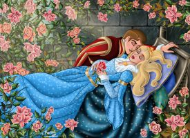 SLEEPING BEAUTY 3 by FERNL