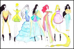 Disney Fashion I by CdCblanc