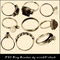 Ring Brushes by miss69-stock
