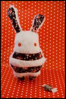 BunnyBoo Plush White Candy by MonstriBoo