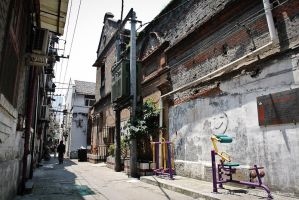Longtang road by longbow