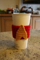 Star Trek Cup Cozy by WolfandSquid