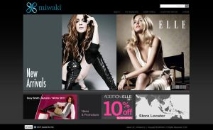 Fashion Website design by shereenchew