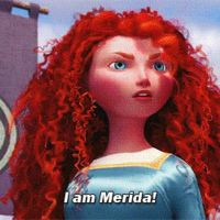 Merida's Story *animation* part 1 by BraveMoonGirl