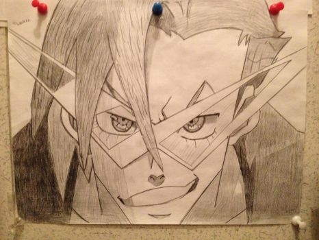 Kamina drawing by cblink22