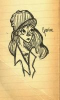 Another Eponine Doodle by maxgirl11