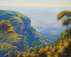 Blue Mountains by artsaus