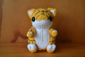 Crochet Sandshrew by Blisca