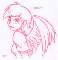 Derpy Hooves Humanized by X-Cross