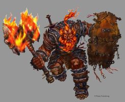 Fire Giant Commando by orangus