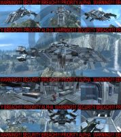 FORGE UNSC PROWLER- RED HORSE by D4RKST0RM99