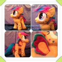 Rainbow Power Scootaloo Plush FOR SALE...updated by Littlestplushoppe