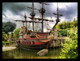 Captain Hook's Pirate Ship by ArtClem