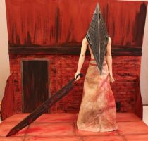 Cosplay Pyramid Head, Animatsuri 2012 by JuliaKochetkova