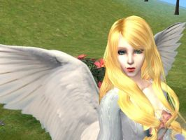 Sims 2: Angel by theBloodRaven