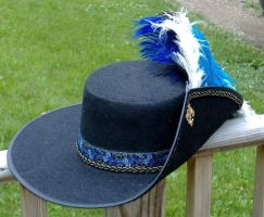 Musketeer Hat by MistressKristin