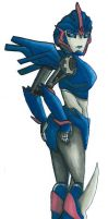 TFP Arcee - You Coming Partner? by doomiscool
