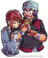 Commiss::. FighterShipping by Priss-BloodEmpress