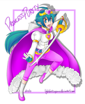 Commish- Princess Purity by LightDarkSoySauce